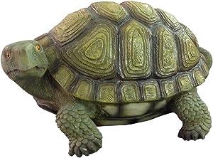VERDELOOK Statuetta a Forma di Tartaruga per Decorazione Giardino, arredo Decoro Decorazioni Esterni