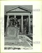 1990 Press Photo Andrew Dickson White Memorial Statue at Cornell University