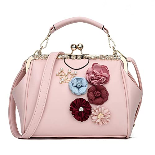 Donalworld Women Retro Hollow out PU Leather Handbag bb38e737ae4a8