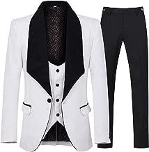 Best white mens suit trousers Reviews