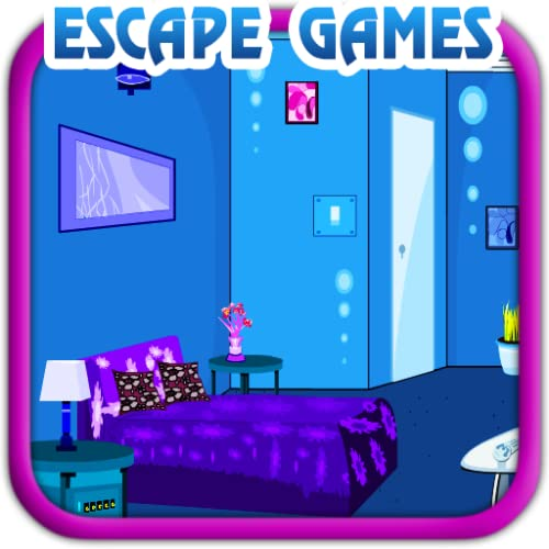 Quarto azul - Jogos de Escapar