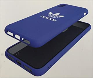 Adidas Moulded Trefoil Snap Case for iPhone Xs MAX - Blue/White - in Retail Packaging