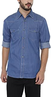 French Connection Mens Slim Collar Assorted Shirt