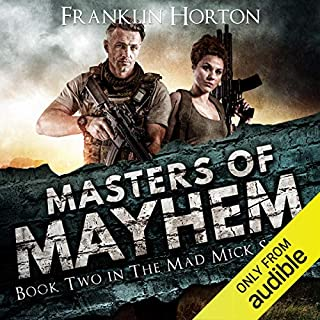 Masters of Mayhem audiobook cover art