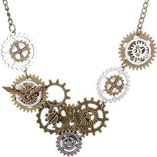 Steampunk Collar Reloj Engranaje