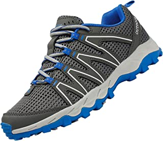 Mesh Men Barefoot Shoes Anti-Skid Quick Dry Water Shoes Outdoor Lace Up Beach Hiking Shoes