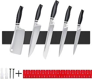 TWBEST Barre Magnétique pour Couteaux,40cm Porte-Couteau Magnétique en Acier Inoxydable,Porte Couteaux Magnétique,Barre à ...