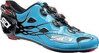 Sidi Shot Vent Carbon Cycling Shoe - Men's Sky Blue/Black, 41.5