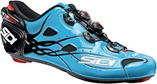 Sidi Shot Vent Carbon Cycling Shoe - Men's Sky Blue/Black, 44.0