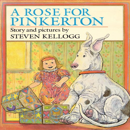 Rose for Pinkerton audiobook cover art