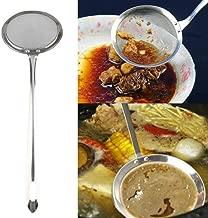 Color/é Cuill/ère P/étale Cuill/ère a Dessert Cuill/ère Cuisine pour Caf/é Th/é Confiture E Finebo Set de 4PCS Cuill/ères /à Glace INOX