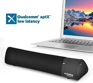 Avantree AptX Low Latency Bluetooth Speaker, Portable Wireless Sound Bar, Digital Signal Processing DSP with Superb Sound, Multiple Sound Modes - Torpedo Plus