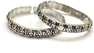 DARSHRAJ JEWELLERS Pure Silver|Chandi| Toe Ring For Women|bichhiya|[2.6Gm]