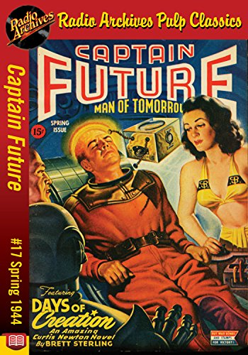 Captain Future #17 Days of Creation (English Edition)