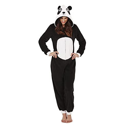 1a9607e71b Womens Onesie Loungeable Ladies Pyjamas 3D Ears All In One Sleepsuit