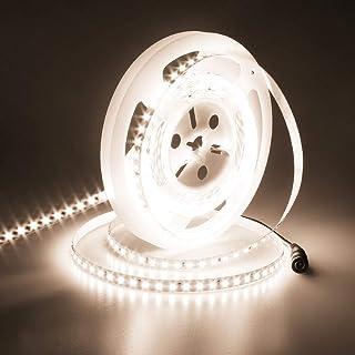 STRISCIA strip LED bianco NATURALE PROFESSIONALE 24V 10W//mt 120 led//mt CRI 95
