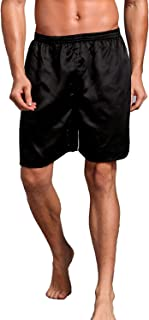 mens silk shorts