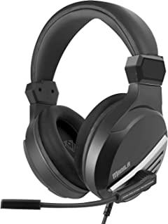 Vertux Gaming Headphone, Premium Over-Ear 3.5mm Wired Gaming Headset with 7.1 Surround Sound, Noise-Isolating Unidirection...