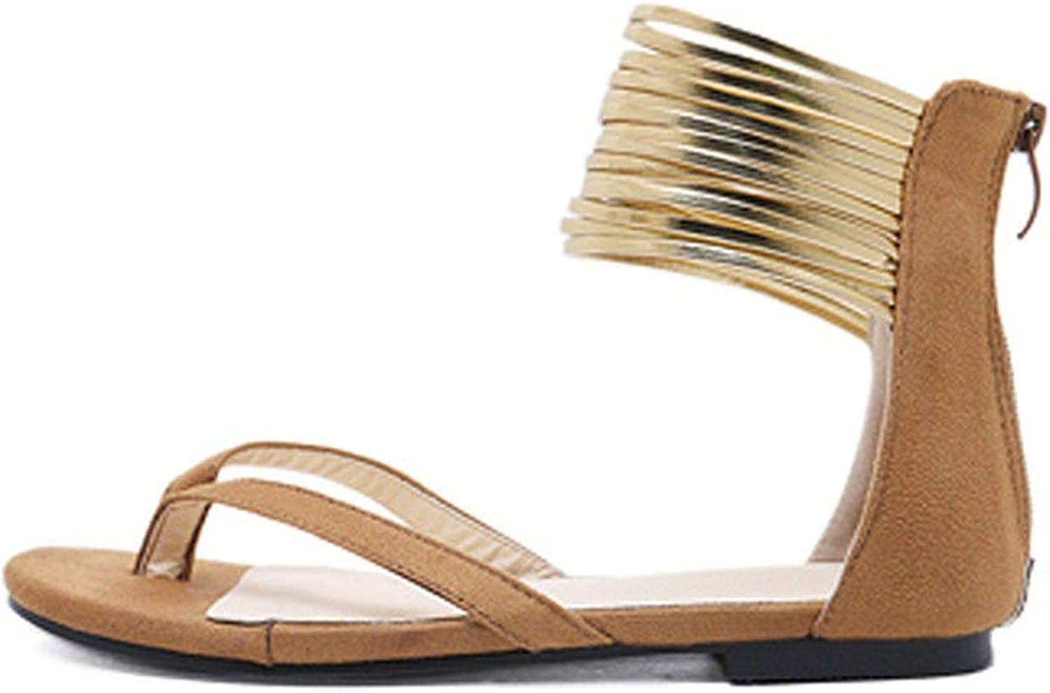 Fantastic-Journey-sandals Summer Casual Sandals Foot Ring Footwear with Bow Chaussure Femme Rome Style Flats