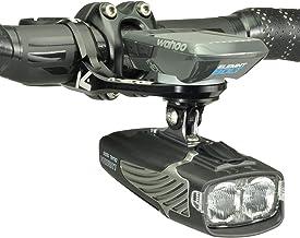 K-EDGE Wahoo Max Combo Mount 31,8 mm, Anodize reserveonderdelen, volwassenen, uniseks, zwart (zwart), eenheidsmaat