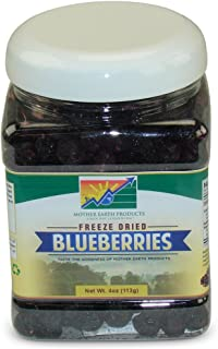 Mother Earth Products Freeze Dried Blueberries, 4 oz