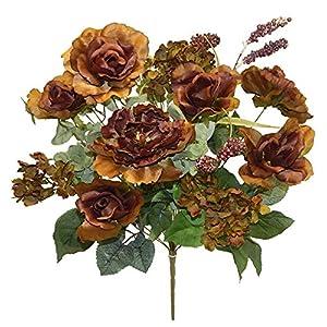 Wholesale Silk Floral Bush