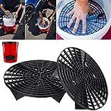 Alftek 23,5/26cm Outil de lavage de voiture Grit Guard Insert pour filtrer l'eau de nettoyage du seau,...