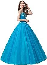 Leyidress Women's Ball Gownress Quinceanera Dressress Embroider Long Prom Dress for