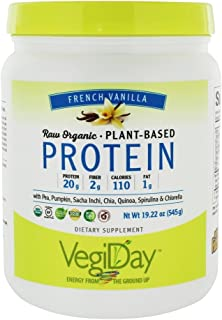 NATURAL FACTORS Vegan Vanilla Protein, 19.22 Ounce