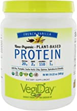 NATURAL FACTORS Organic Vegan Vanilla Protein, 19.22 OZ