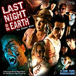 A picture of the Last Night On Earth board game box.