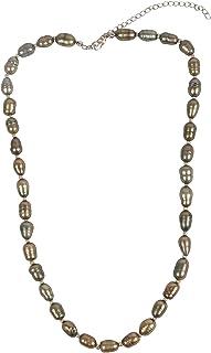 Gempro Women's Pearl Collar Necklace - JGSKU01088
