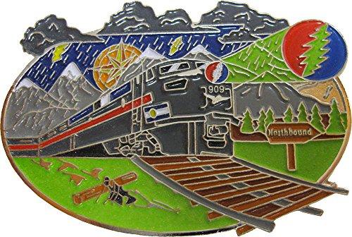 Hippie Train - Lightning Bolt - Enamel Pin
