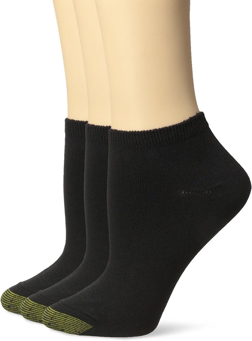 Gold Toe Women's Ultra Soft Le Grand No Show Socks, 3-Pairs