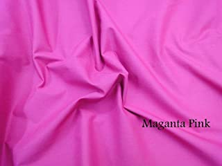 Best magenta cotton fabric Reviews
