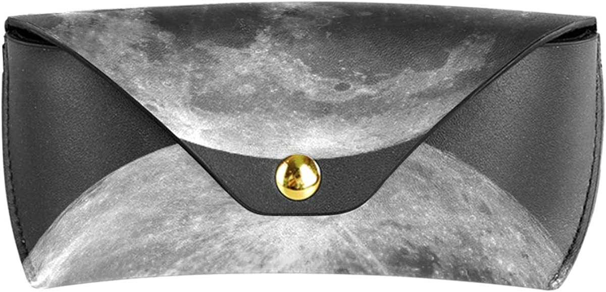 Goggles Bag PU Leather Solar System Planet Moon Portable Multiuse Sunglasses Case Eyeglasses Pouch Holder