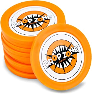 MIDWAY MONSTERS 5-Pack of Replacement Drop Zone Express Pucks   2.5