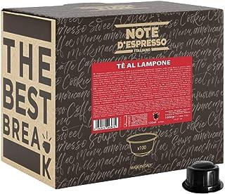 """Note D""""Espresso Kaffeekapseln für Caffitaly Kaffeemaschinen, Himbeertee, 10 g 100-er Pack"""