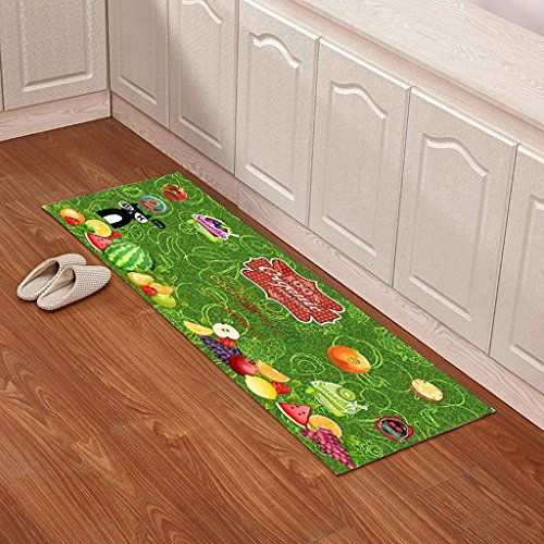 DSJ matrassen, keukenmatten, badkamermatten, matten, kussen, matten, kussen, badkamermatten, 60 x 180 cm, DD