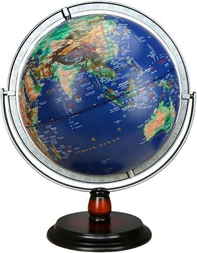 ZQYR Gift  Globus Beleuchtet Globen WeltKugel für Kinder Halloween, Business & Geburtstag Geschenke, Wohnkultur Büro Dekoration 12 Zoll - Model JSL072