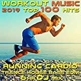 Workout Music 2019 Top 100 Hits Running Cardio Trance House Bass EDM 6 Hr DJ Mix