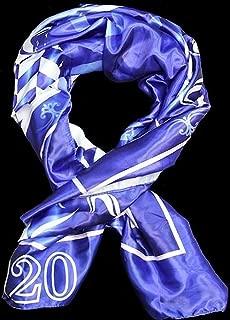 Zeta Phi Beta Satin Scarf w/Box [Blue - 70