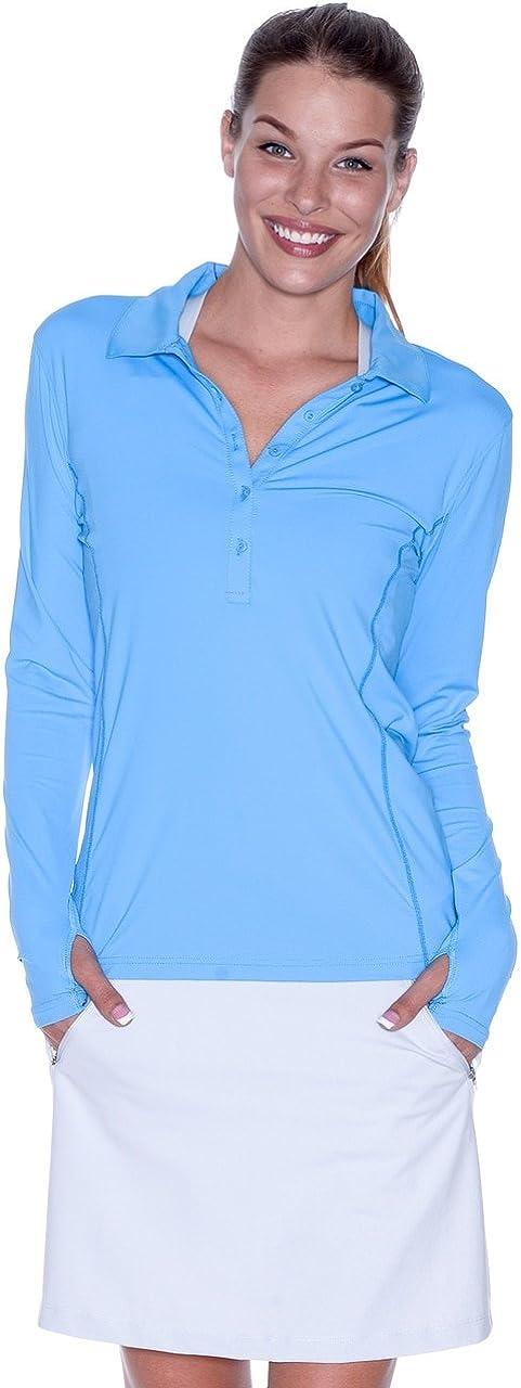 Fresno Mall Super intense SALE BloqUV Women's Shirt Collared