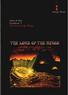 Lord of the Rings, The(Symphony No. 1) - Complete Edition Book With CD