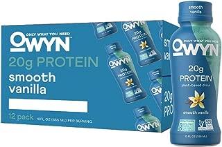 OWYN, Vegan Protein Shake, Vanilla,12 Fl Oz (12 Pack)