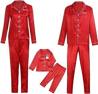 kingfansion Women Christmas Family PJs Family Matching Christmas Pyjamas