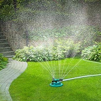 Goldflower Adjustable 360 Degree Rotation Lawn Sprinkler