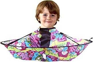 Blesiya Kid Child Haircutting Trimming Shampoo Apron Cape Cloak Haircut Umbrella Catcher - 4#