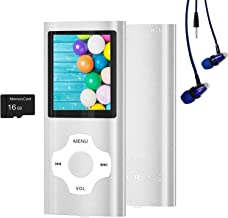 Sponsored Ad - MP3 Player / MP4 Player, Hotechs MP3 Music Player with 16GB Memory SD Card Slim Classic Digital LCD 1.82'' ... photo