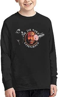 The Joe Rogan Experience Boys/Girls Junior Kids Classic Cotton Long Sleeve Crewneck Teenage T Shirts Top Tee